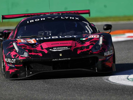 ELMS: Iron Dames clinch third podium of the season in Monza 4H