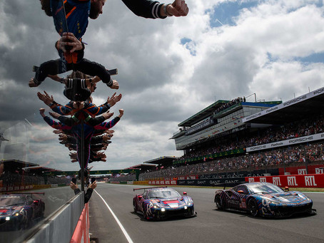 Frey, Gatting, Gostner finish Le Mans 24 hours in top 10