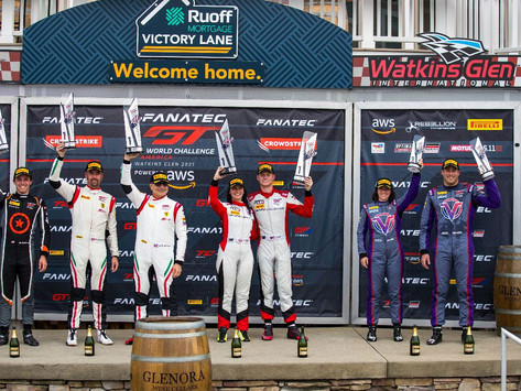 GTWC America: Taylor Hagler takes second win in SRO, Erin Vogel back on the podium after pole