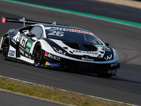 DTM: Esmee Hawkey close to point finish in Nürburgring