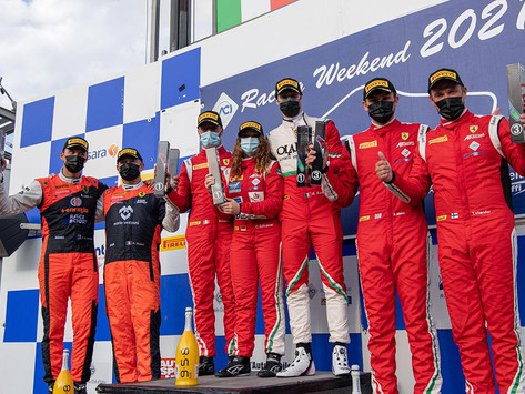 Italian GT: Class victory for Carrie Schreiner in Vallelunga