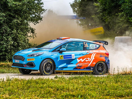 A short WRC appearance for Molly Taylor in Estonia