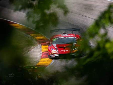 Lamborghini Super trofeo: Ashton Harrison takes victory and third place in Road America