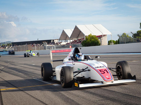 Second point-scoring weekend for Angélina Favario in French F4