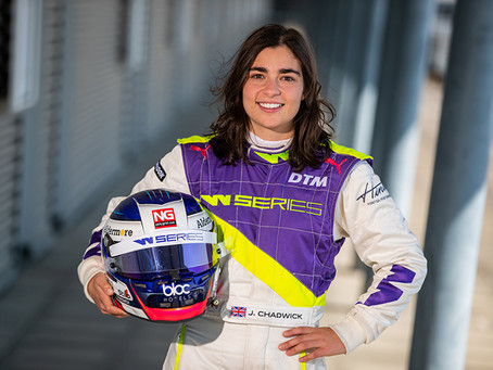 CHADWICK TAKES POLE FOR INAUGURAL WSERIES RACE