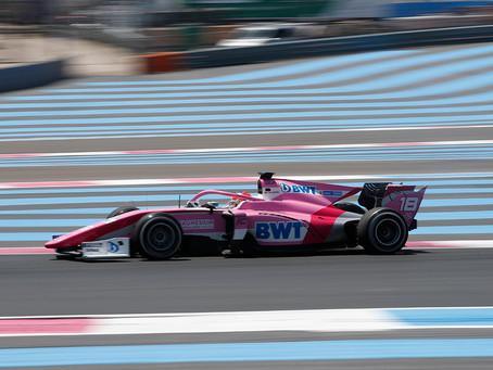 F2: Tatiana Calderon retires from Le Castellet race 2