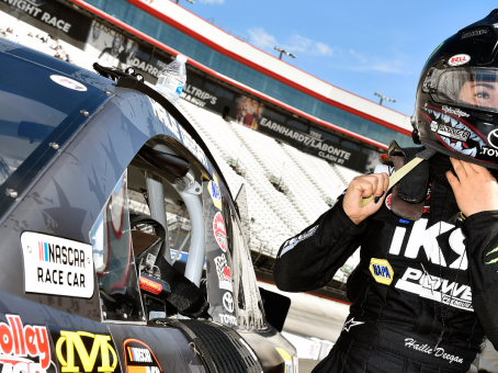 Hailie Deegan picks up second NASCAR K&N East top-10