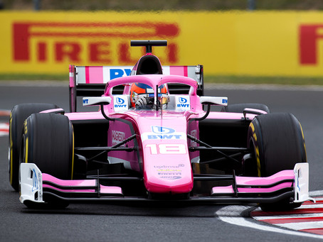 F2: Tatiana Calderon 16th in first Budapest race