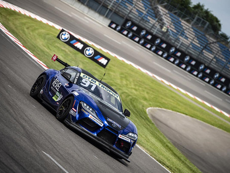 Light & Shadow in DTM Trophy at Lausitzring