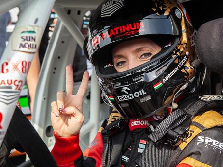 Adrienn Vogel few tenths away from crazy victory in Monza Kia Cup race