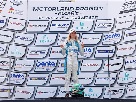 Spanish F4: Emely De Heus claims personal best in the series, strong race pace for Lovinfosse