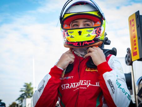 F4 Italy: Hamda Al Qubaisi retires from Monza race 2
