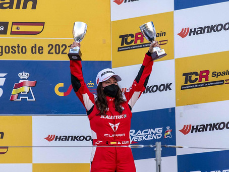 TCR Spain: Two more female podiums in Aragon