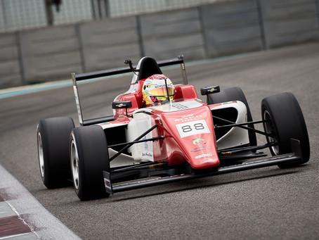 F4 UAE: Hamda Al Qubaisi returns to victory in Abu Dhabi