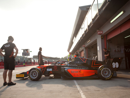 Floersch does not capitalize on practice pace in Imola day 1