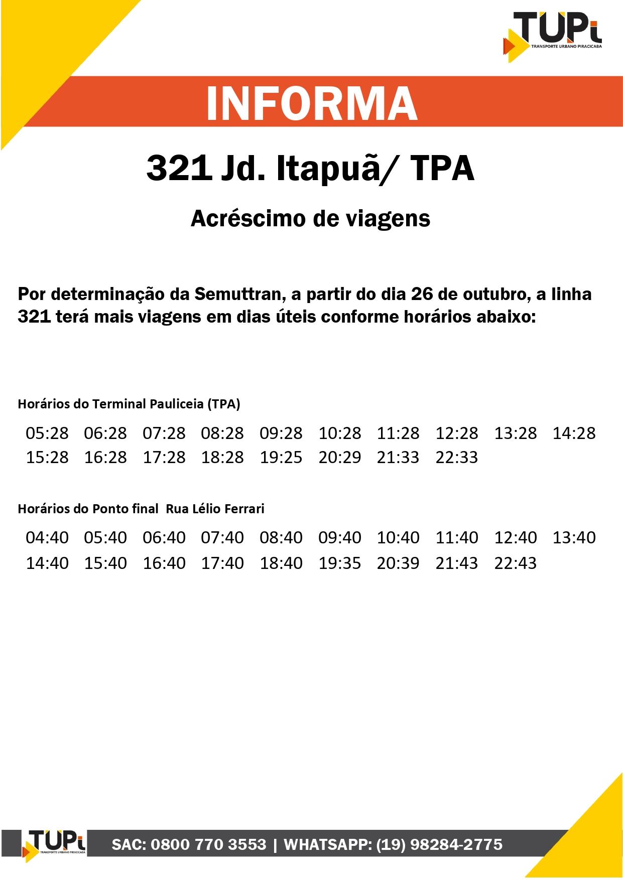 321 itapua