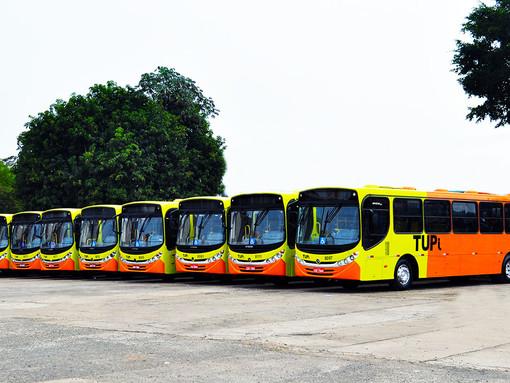 Mais ônibus nas ruas em junho