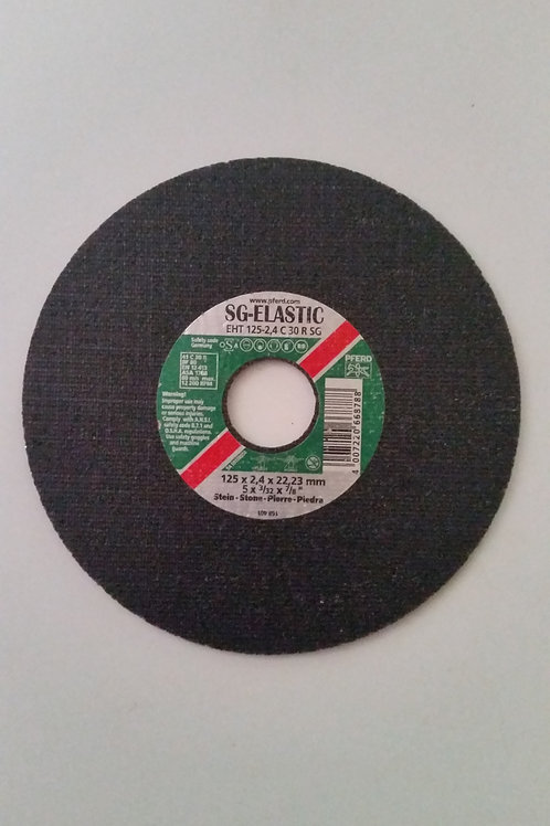 125mm x 2.4mm Cutting Wheel for Stone Qty = 1