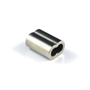 Swage to suit 3.2mm Wire Rope Nickel Plated