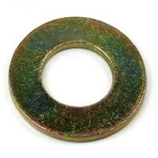 "3/8"" High Tensile Grade 8 Washers Zinc Yellow Qty = 1"