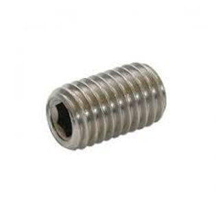 M6 x 12mm Zinc Plated Cup Point Grub Screw Qty = 1