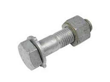 M16 x 80mm Structural Assembly Galvanised High Tensile 8.8 Pkt Qty = 75