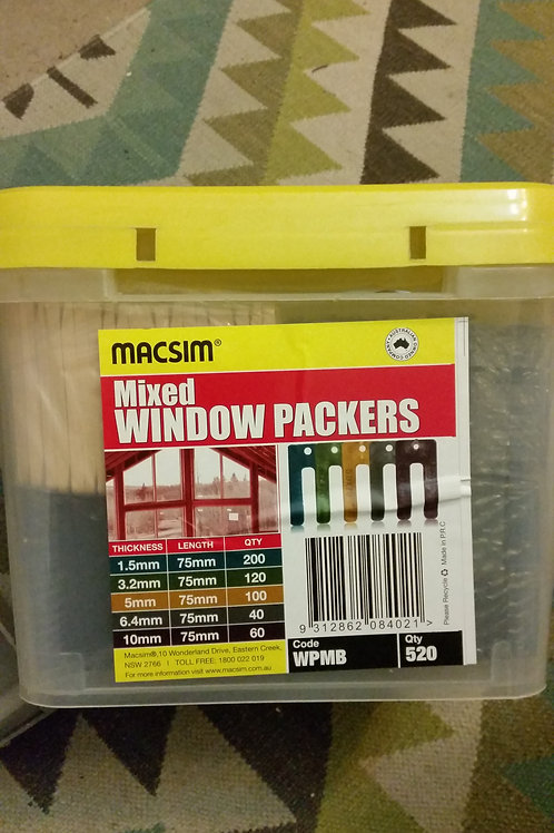 Mixed Tub of 520 Window Packers