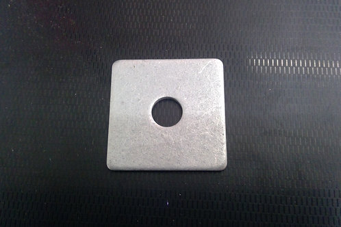 M12 x 40 x 40 x 3mm Galvanised Square Heavy Flat Washers Pkt Qty = 200