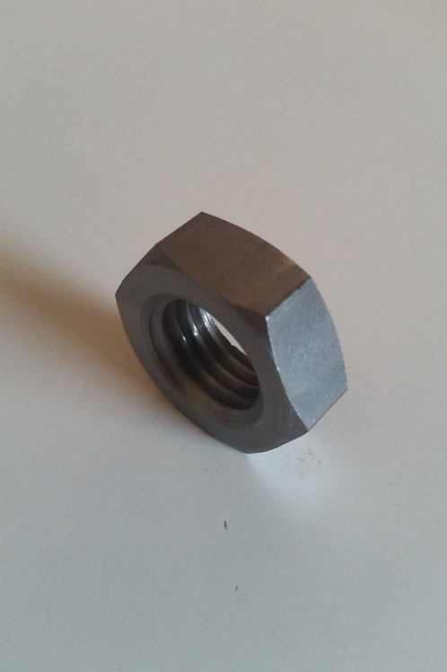 M8 Metric Fine 1.00mm Pitch Plain Class 8 Hex Nut