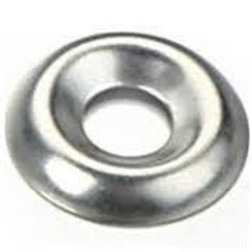 10g Stainless G304 Cup Washer Pkt Qty = 100