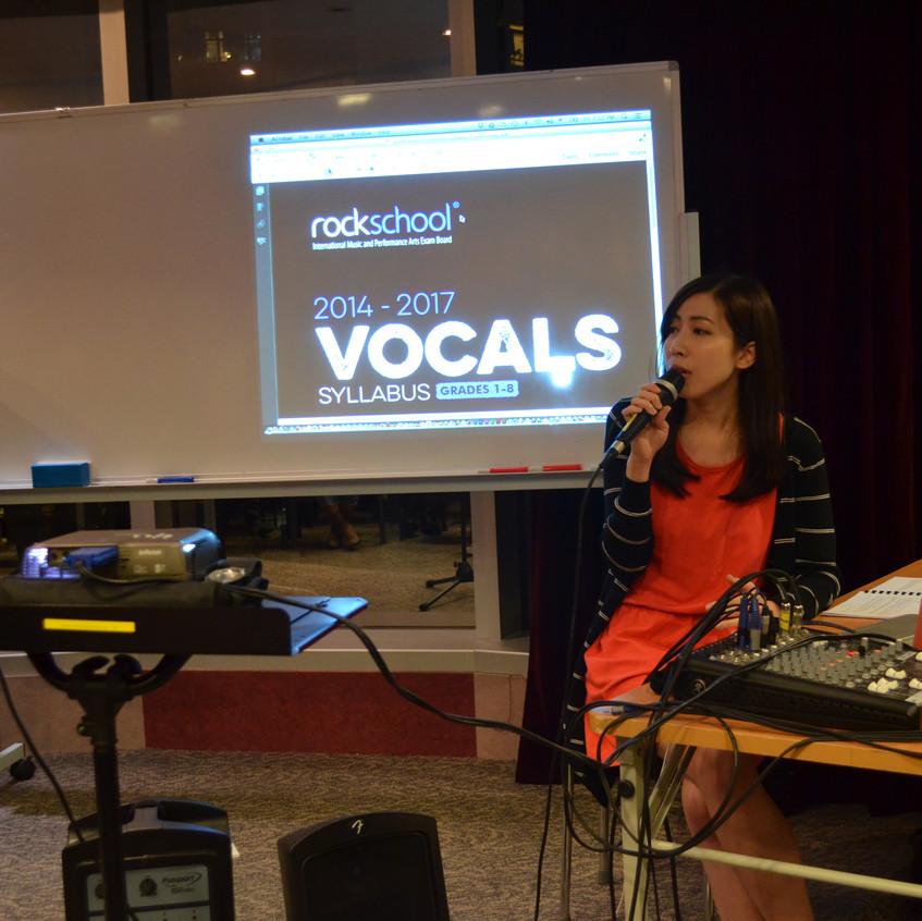 Rockschool Vocal Workshop HK