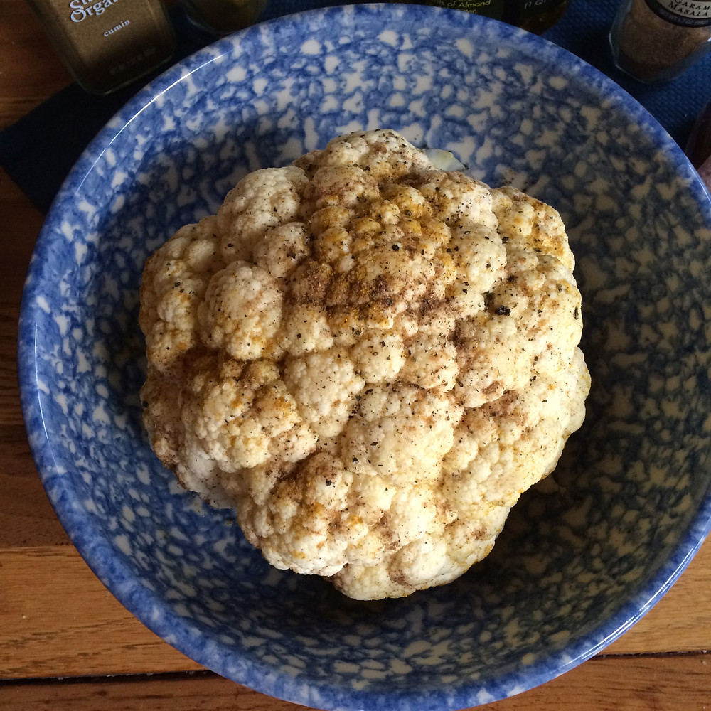 Roasted Whole Cauliflower