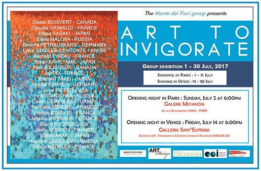 Exposition, Galérie Metanoia Paris