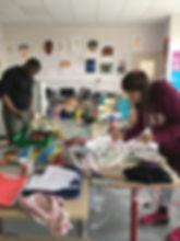 atelier médiation artistique, adolescents