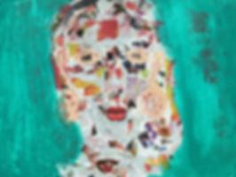 mediation artistique, collage