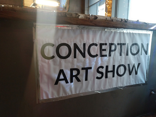 Conception Art Show August 23 2018