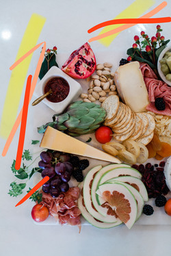 Wedding Cheese + Charcuterie Board
