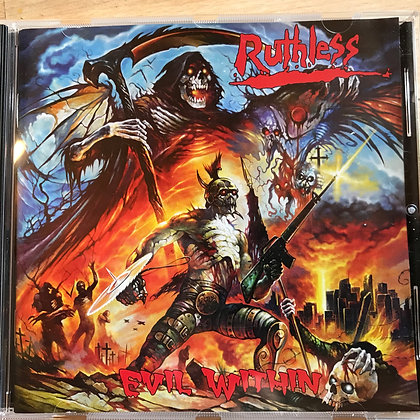 "Ruthless-Evil Within Limited 12"" Vinyl"