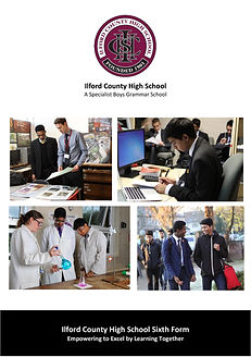 Ilford County High School Sixth Form Prospectus