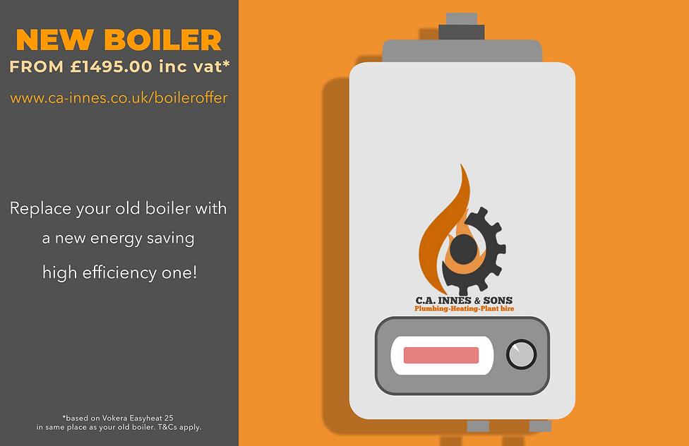 new boiler in Buckie, New boiler in Elgin, New boiler in keith