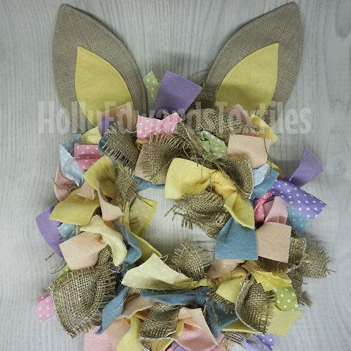 Bunny Rag Wreath