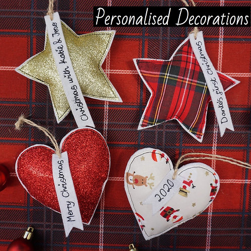 Personalised Decorations