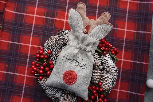 Rudolph Treat Bag