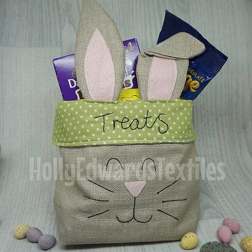 Fabric Bunny Basket