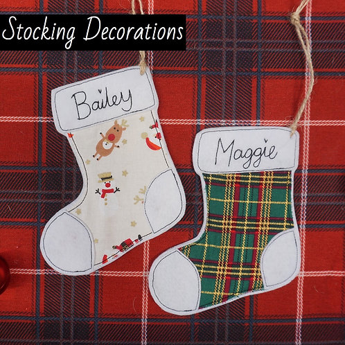 Stocking Decorations