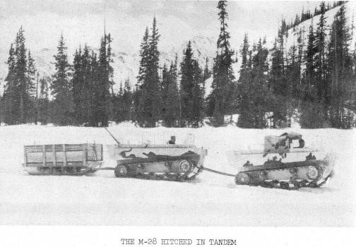 M28 hitched in tandem