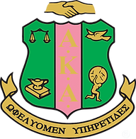 Alpha Kappa Alpha Sorority Official Cres