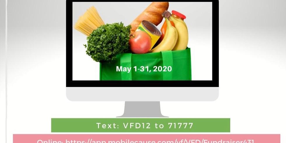 May 1- 31: Virtual Food Drive