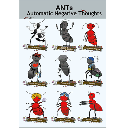 """ANTs poster, large 12"""" x 18"""""""