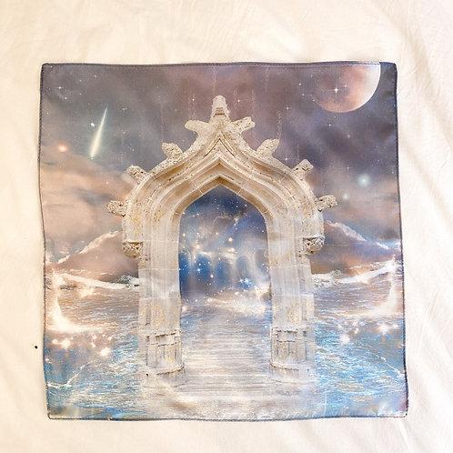 Moonlight Temple Vegan Silk Altar Cloth